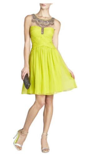 BCBG Julissa Beaded Cocktail dress