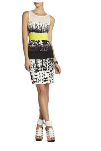 BCBG Tara Fitted Dress