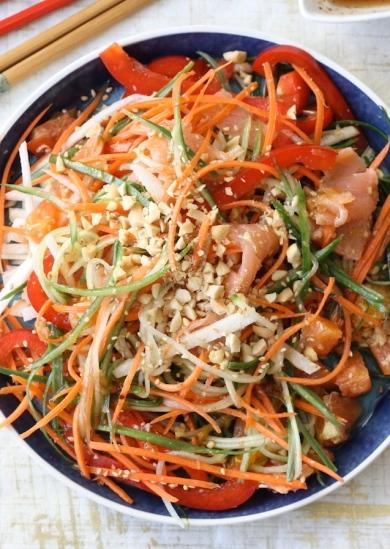 yu sheng chinese new year salad recipe